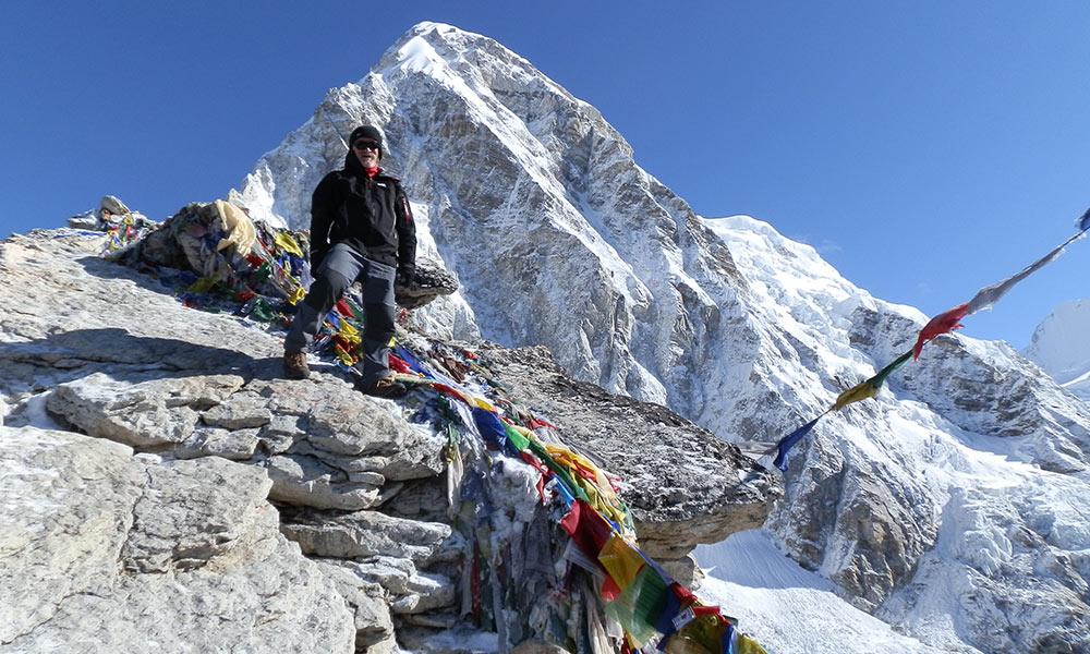 Kala Patthar - the best viewpoint for Everest