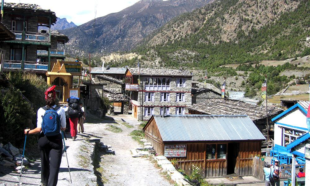 Lower Pisang Village