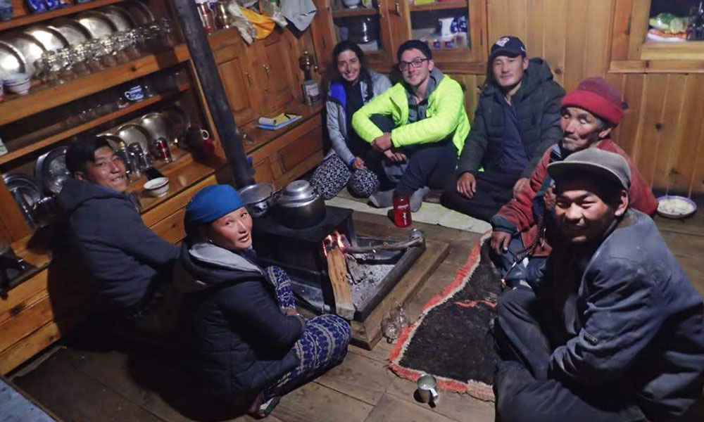 Dinner with locals in a local house