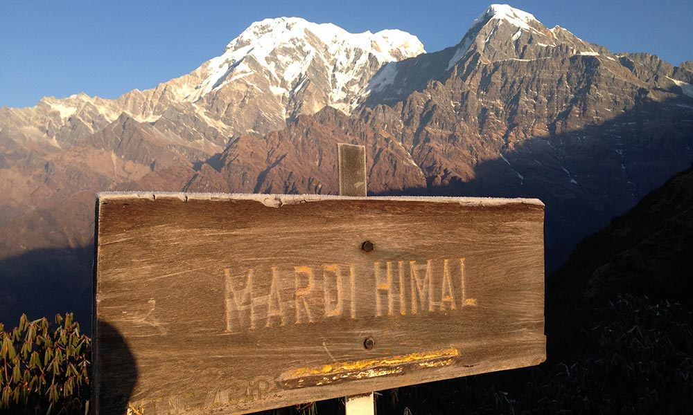 Mardi Himal viewpoint