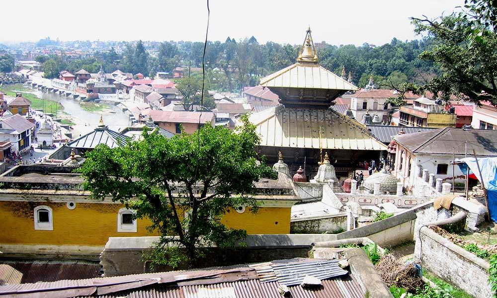Aerial View of Pashupatinath