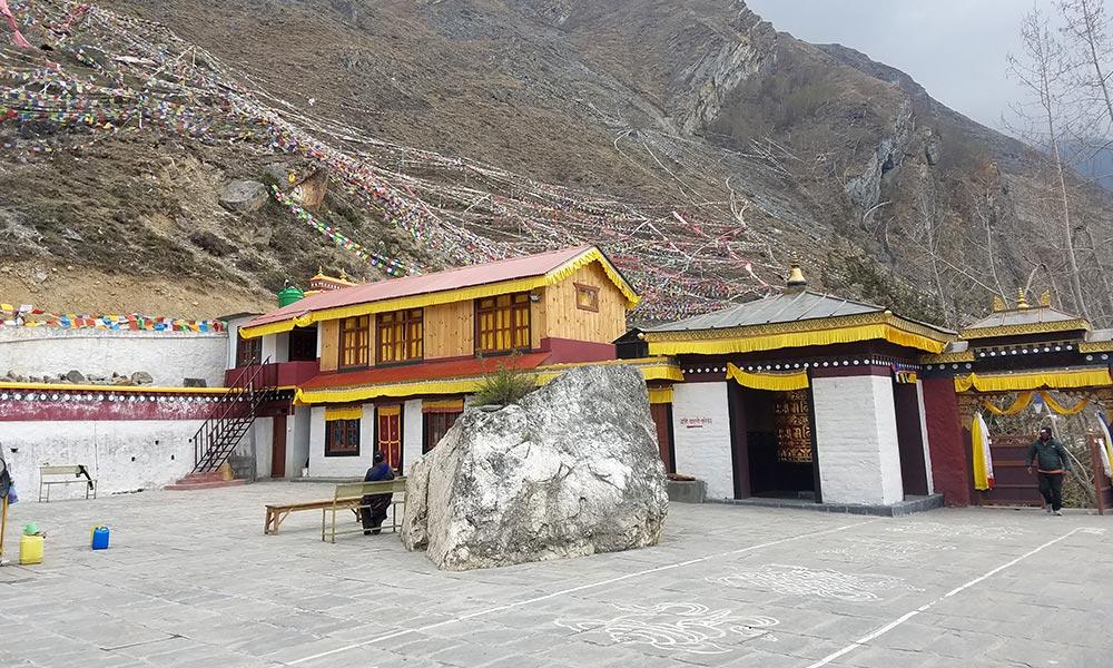 Nunnery at Muktinath