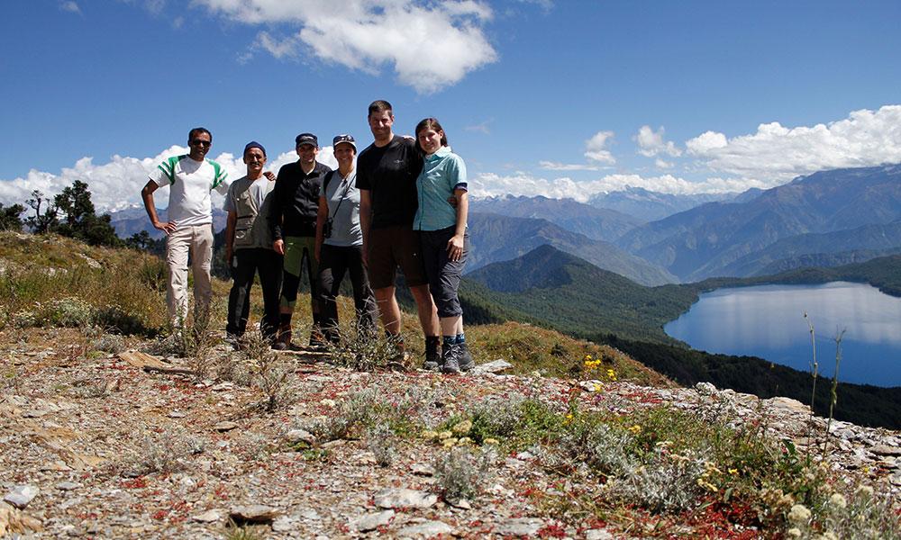 Group Photo at Murma Top