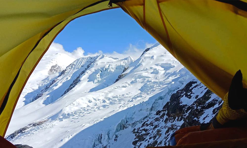 View from Tent-camp