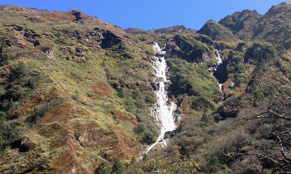 Waterfall - Ganesh Himal mine