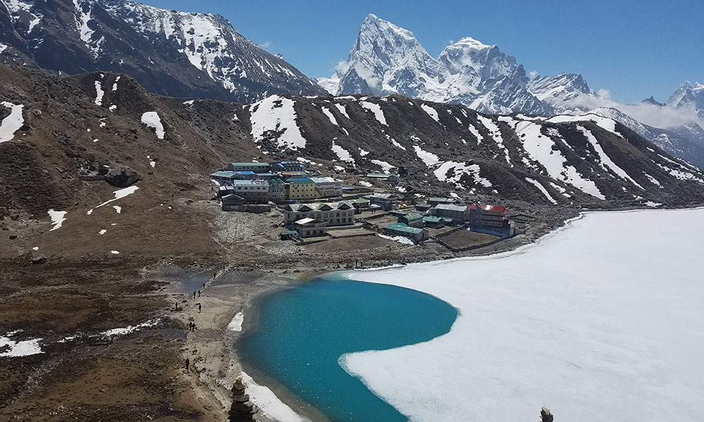 Gokyo Valley and Hotel