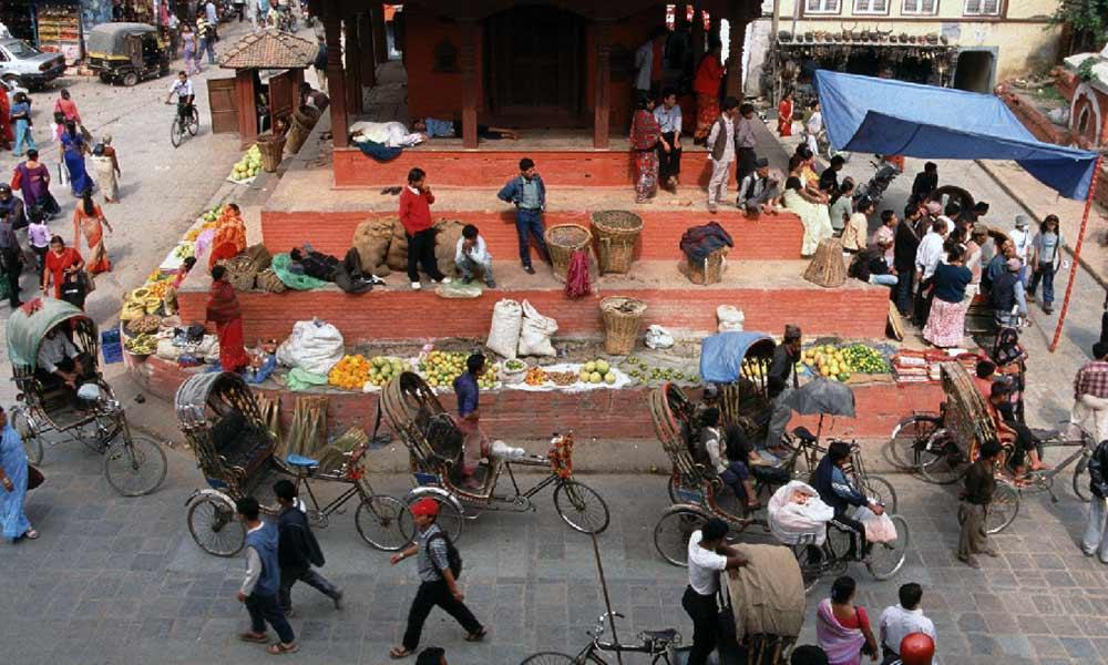 Around Kathmandu Durbar Square
