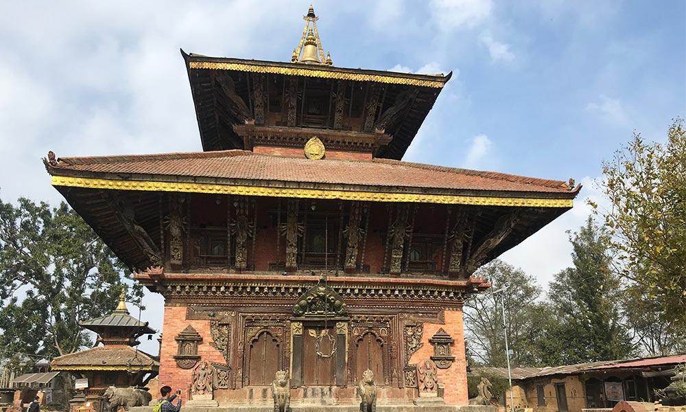 Changunarayan - an ancient Hindu Temple