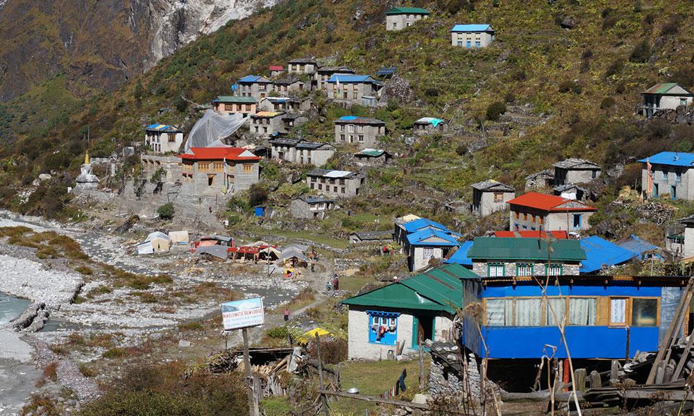 Bedding Village - Rolwaling