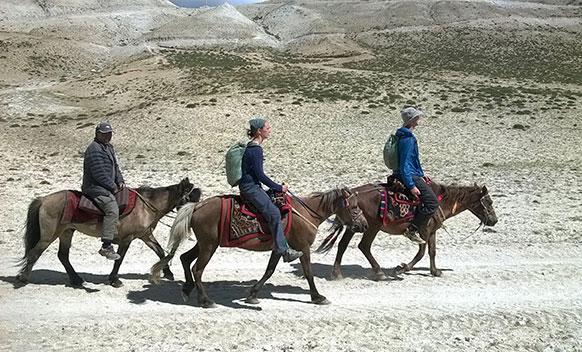 Horse Riding Trek to Upper Mustang