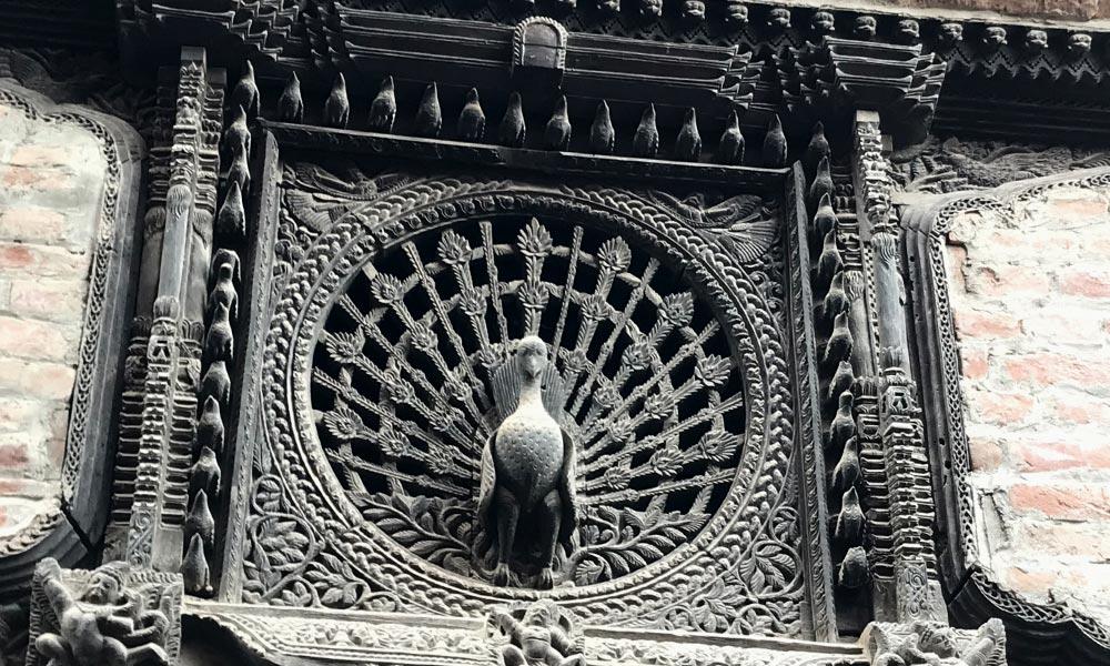 Peacock window at Bhaktapur