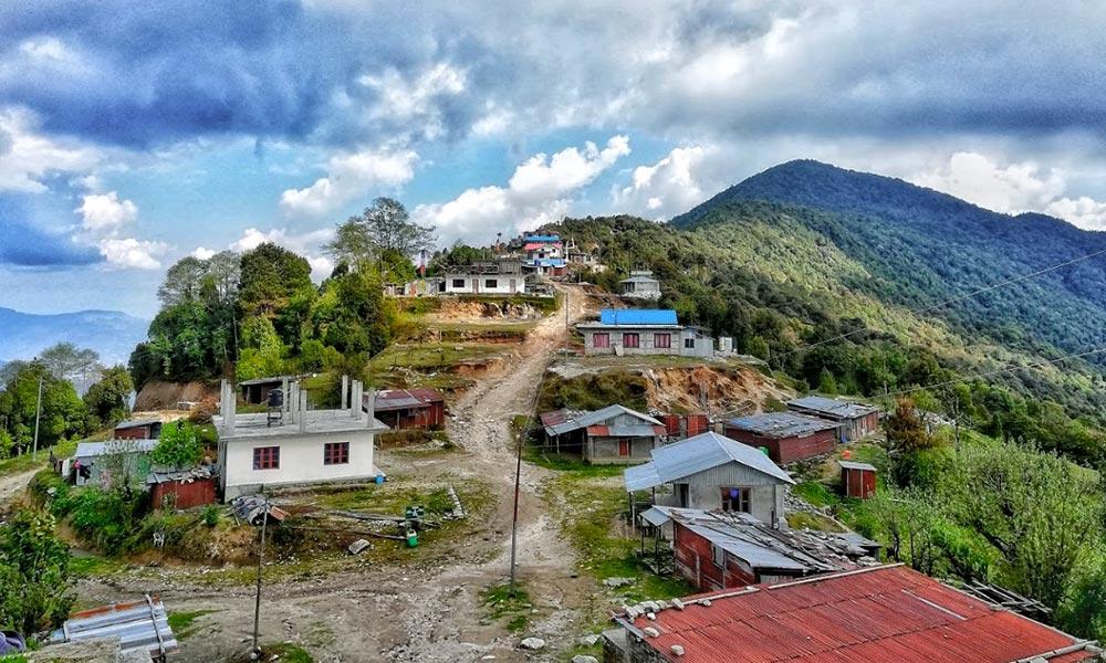 View from Kutumsang