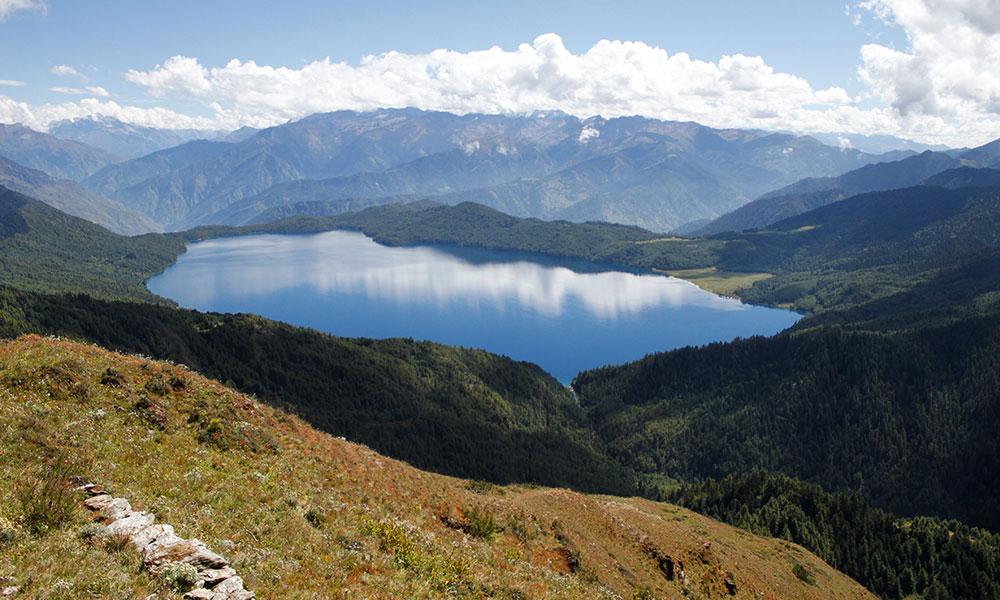 View of Rara Lake from Murma Top