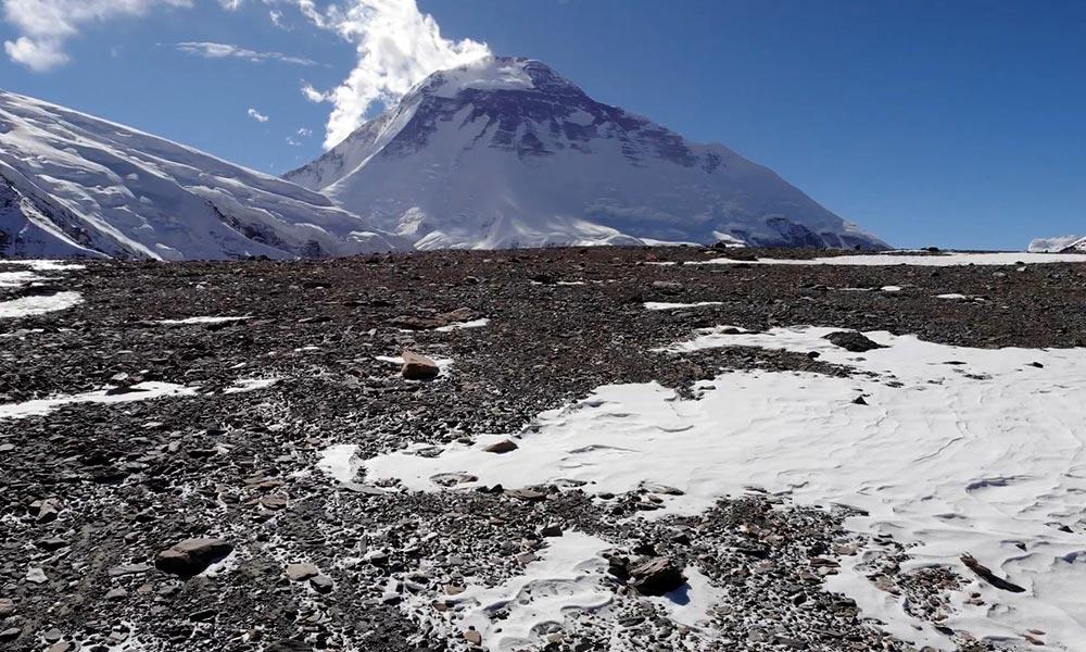 Mt. Dhaulagiri from Hidden Valley
