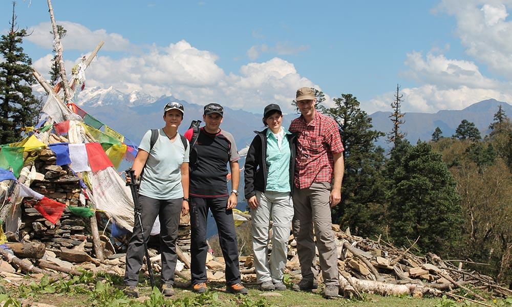 Group Photo at Bhanjyang