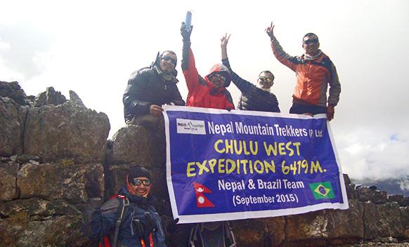 Chulu West Peak Climbing with Annapurna Circuit Trek