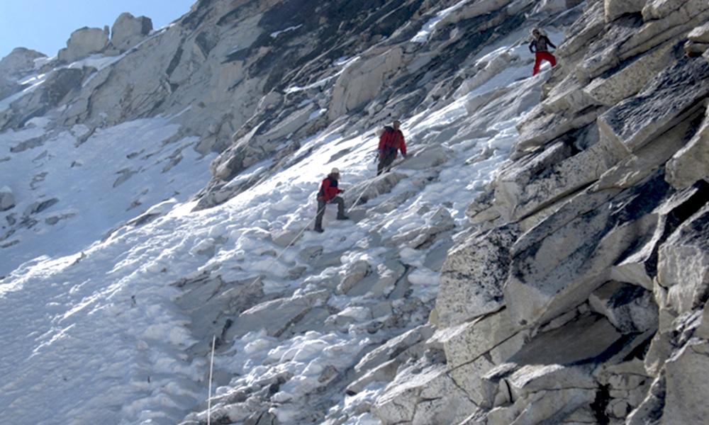 Using Ice Rope
