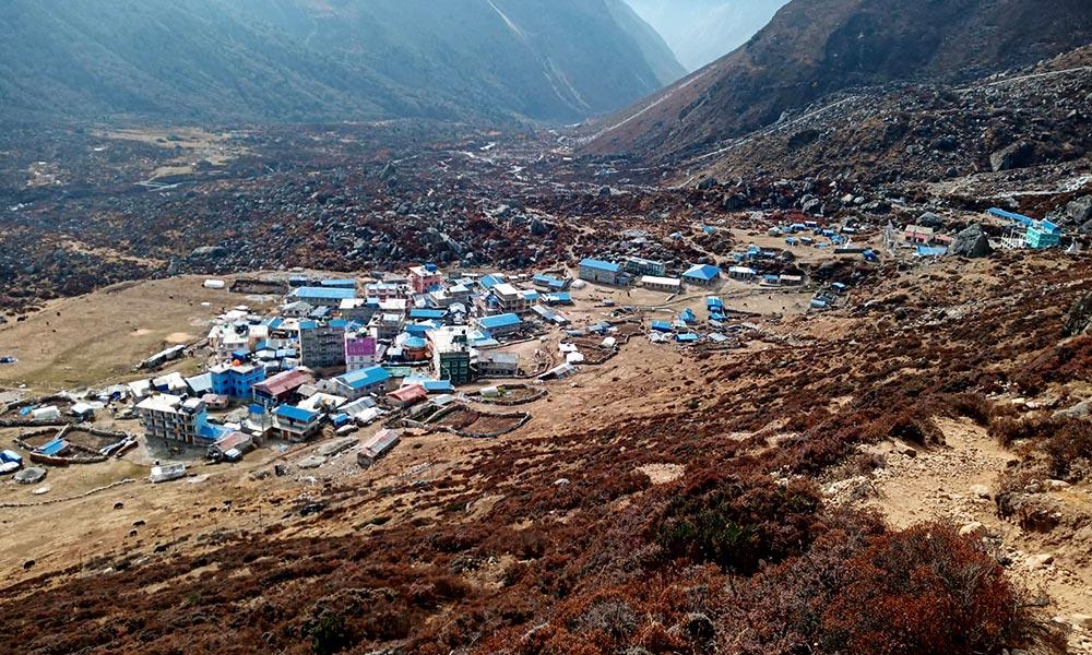 Kyanjin Gompa Village