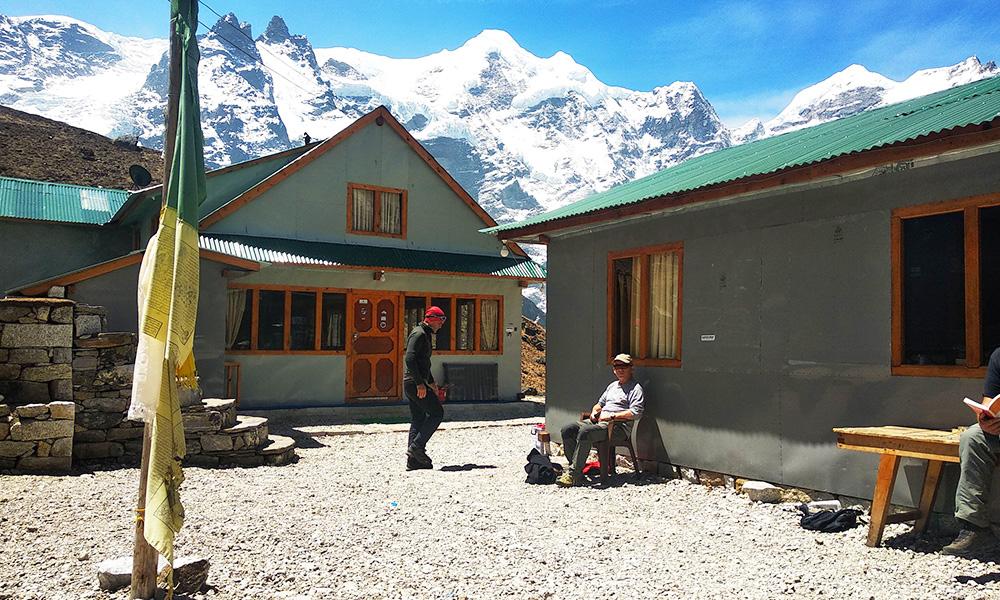 Accommodation at Khare