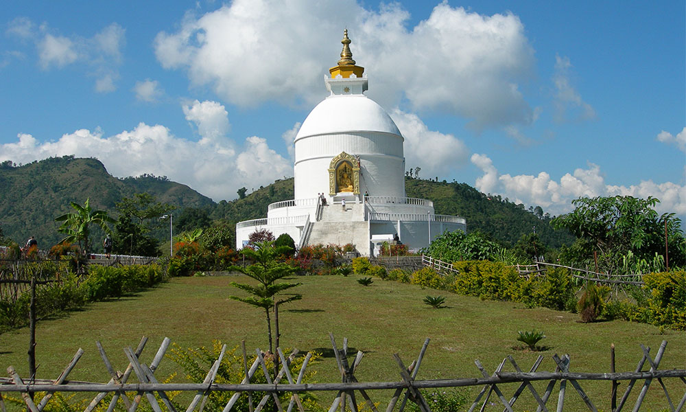 Pokhara Peace Stupa