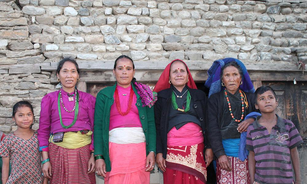 Local Women and Children
