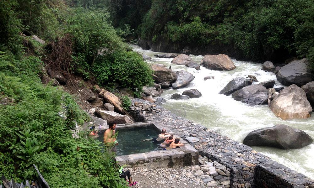 Tatopani - Natural Hotspring