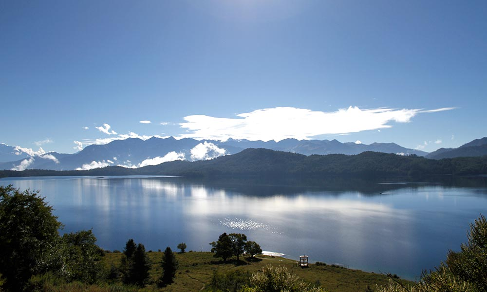 View of Rara Lake from the Machan