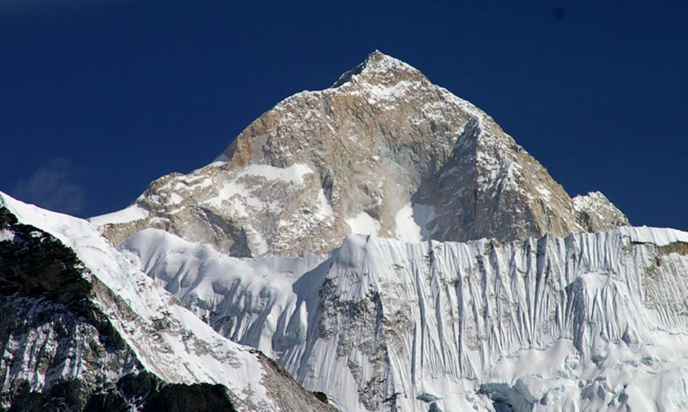 Mt. Makalu - the fifth highest mountain in the world at 8,485 metres (27,838 ft)