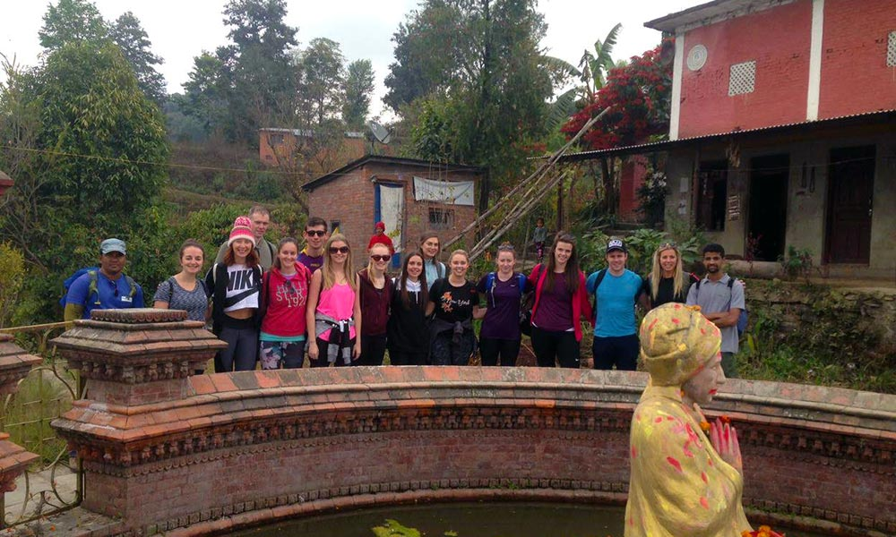 Photo session inside Bhaktapur Palace