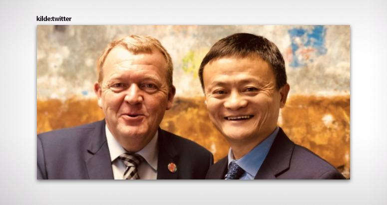 Danmark støtter kinesisk e-handel