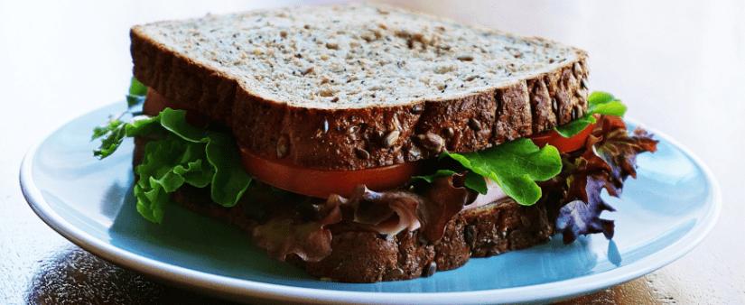 Spis dig slank i sandwiches