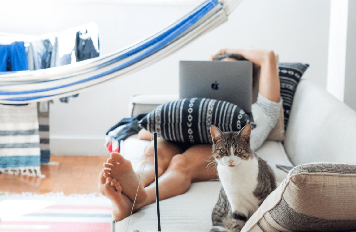 Fjernarbejde kan mindske risikoen for stress