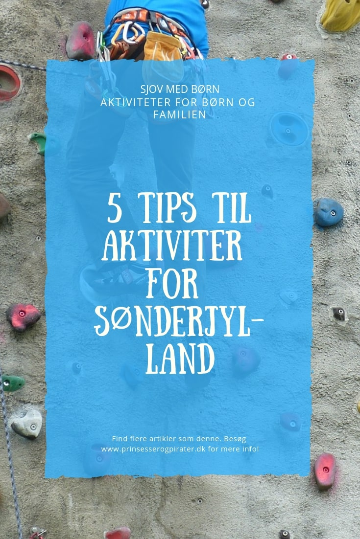 5 TIPS TIL AKTIVITER FOR SØNDERJYLLAND
