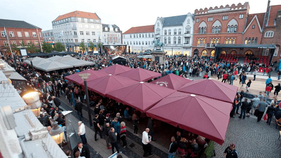 10.000 mennesker og 3.000 motorcykler til træf i Esbjerg centrum