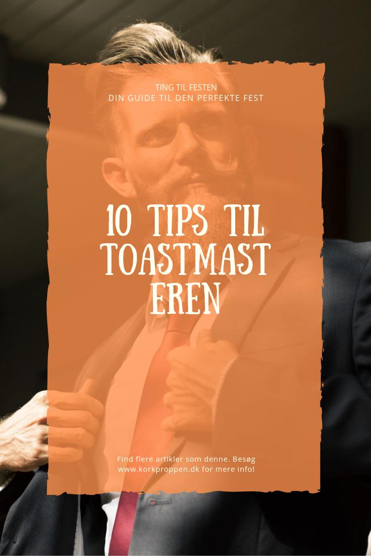 10 tips til toastmasteren
