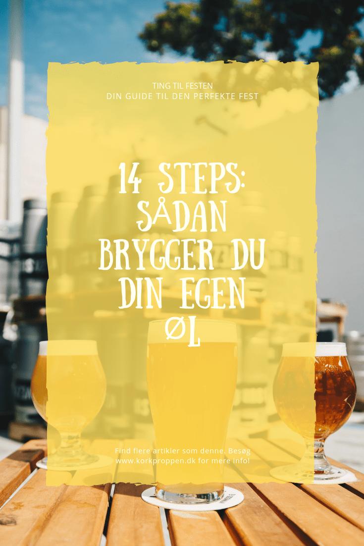 14 Steps: Sådan brygger du din egen øl