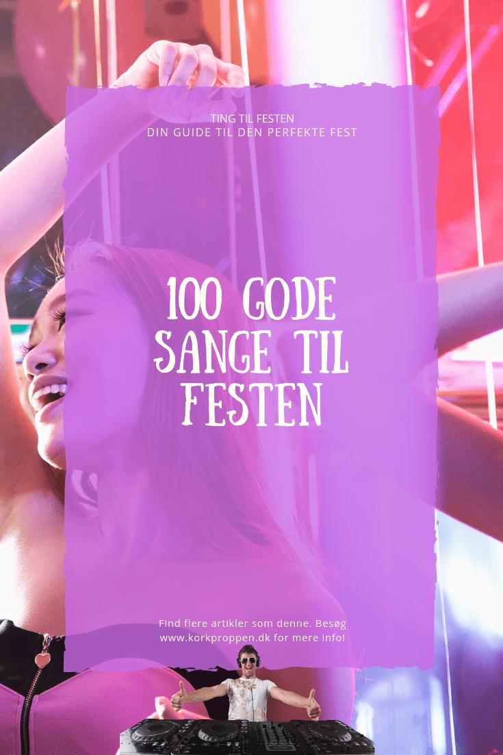 100 gode sange til festen