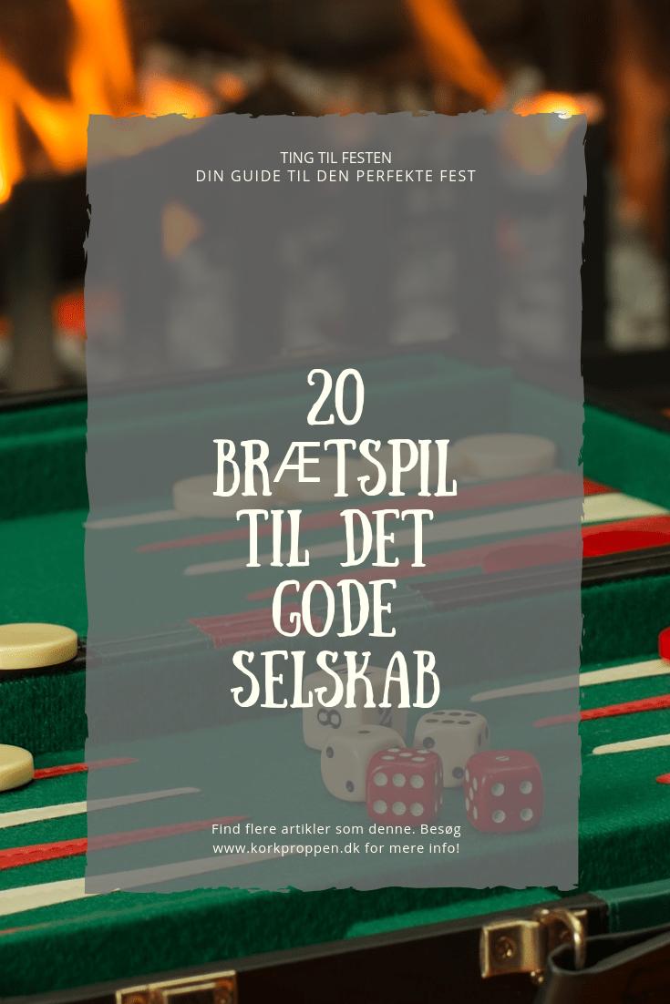 20 brætspil til det gode selskab