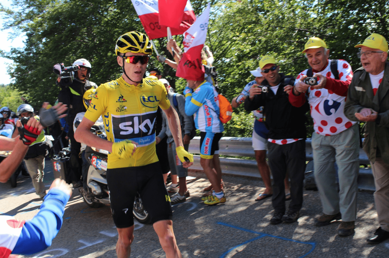 Chris Froome styrtet - misser årets Tour de France