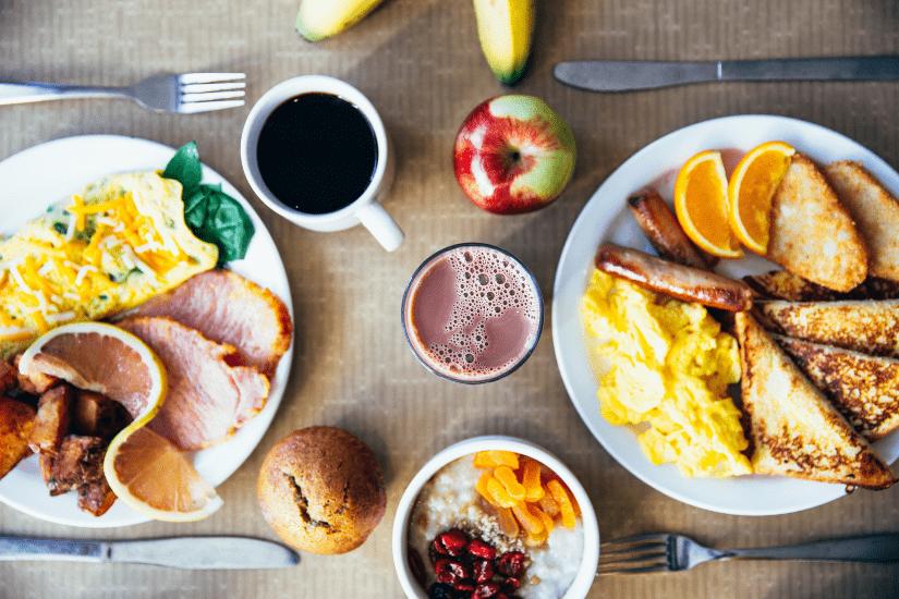 15 bud på sund morgenmad