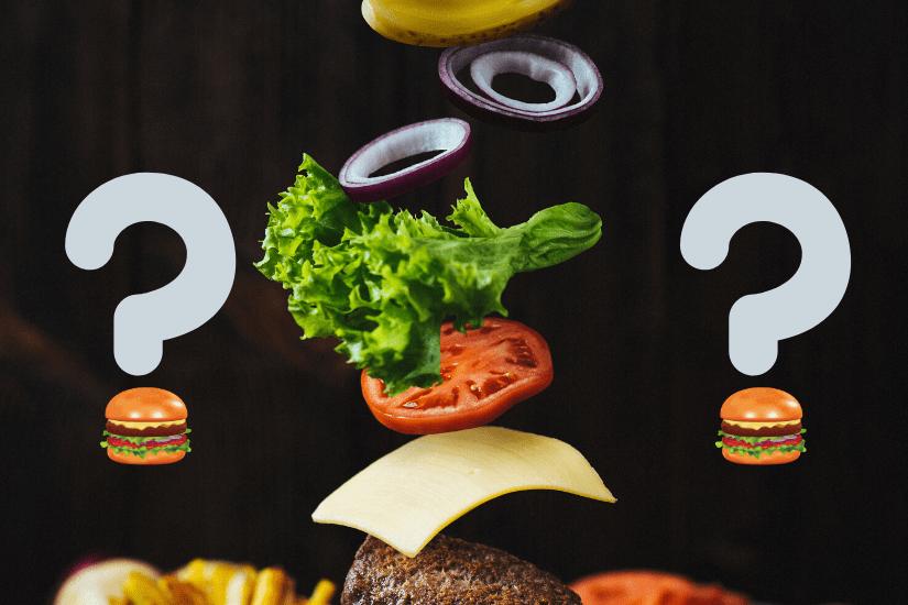 Ingredienser i Burger [Se 6 forslag her!]