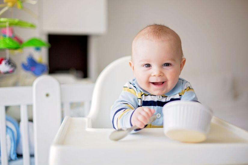 Babymad (4-5 mdr.+): Lav din egen squash/kartoffelmos