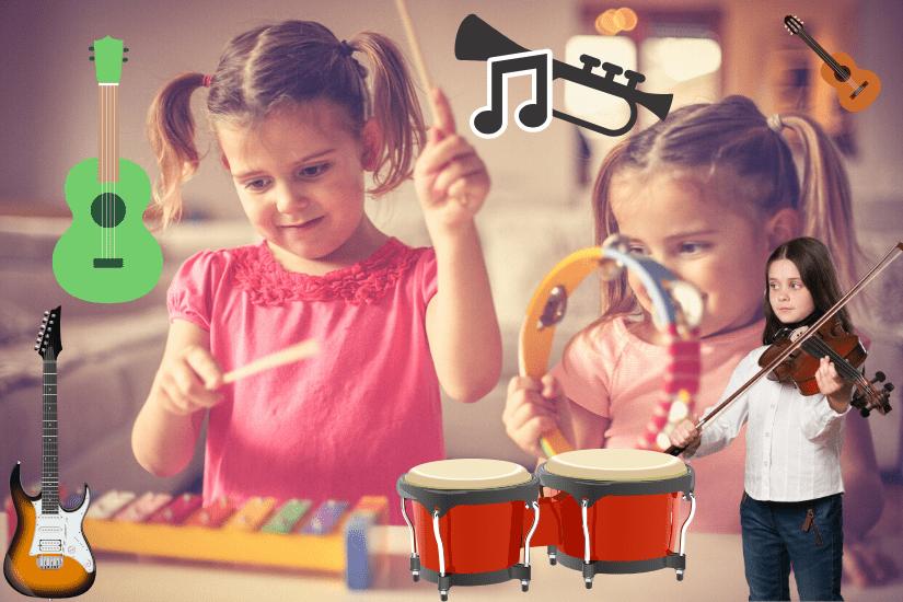 Bedste musikinstrumenter til børn [Se Top 13 HER!]