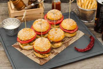 Video: Verdensrekorden i burger spisning