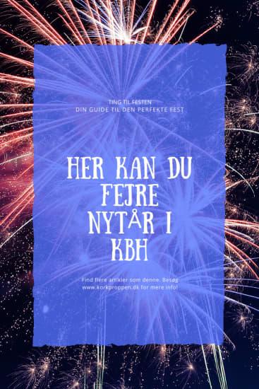 Her kan du fejre nytår i KBH