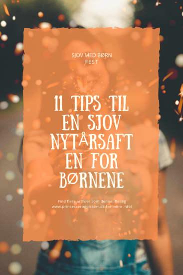 11 tips til en sjov nytårsaften for børnene