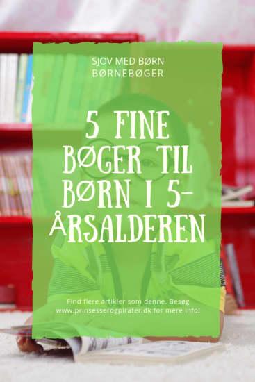 5 fine børnebøger til børn i 5-årsalderen