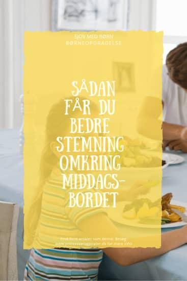 6 fejl du skal undgå, når du spiser aftensmad med dine børn