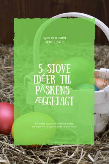 5 sjove idéer til påskens æggejagt