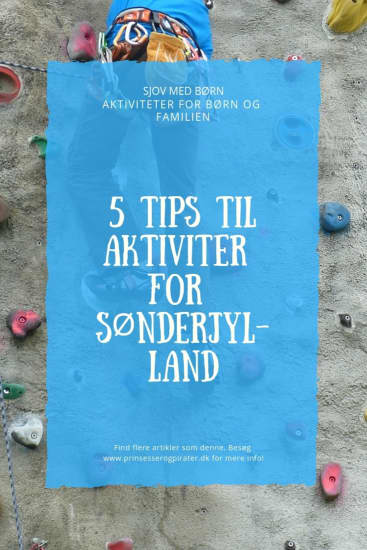 5 TIPS TIL AKTIVITER FOR SØNDERJYLLAND